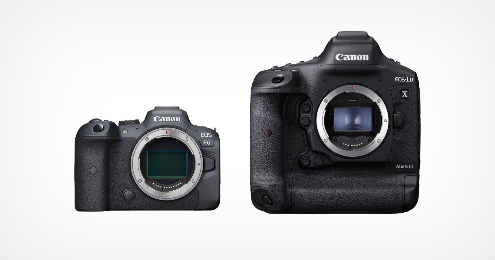 Canon R6 e 1DX III ottengono C-Log 3, registrazione simultanea su doppia scheda