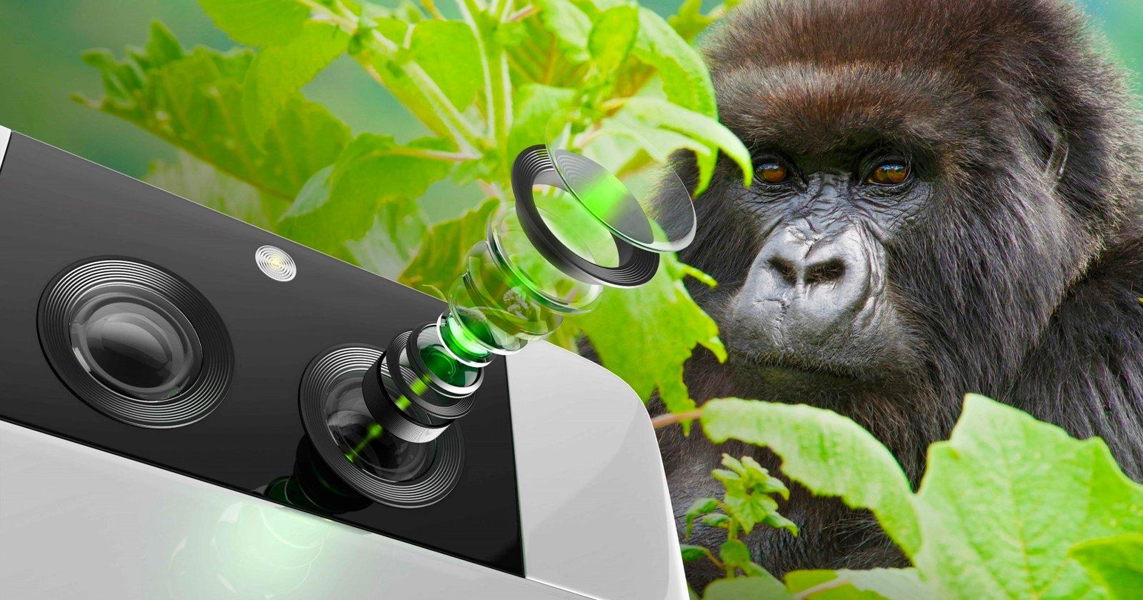 Corning presenta il nuovo Gorilla Glass per obiettivi per fotocamere per smartphone