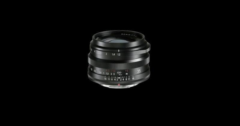 Cosina Launches the Voigtlander Nokton 35mm f/1.2 for Fuji X-Mount