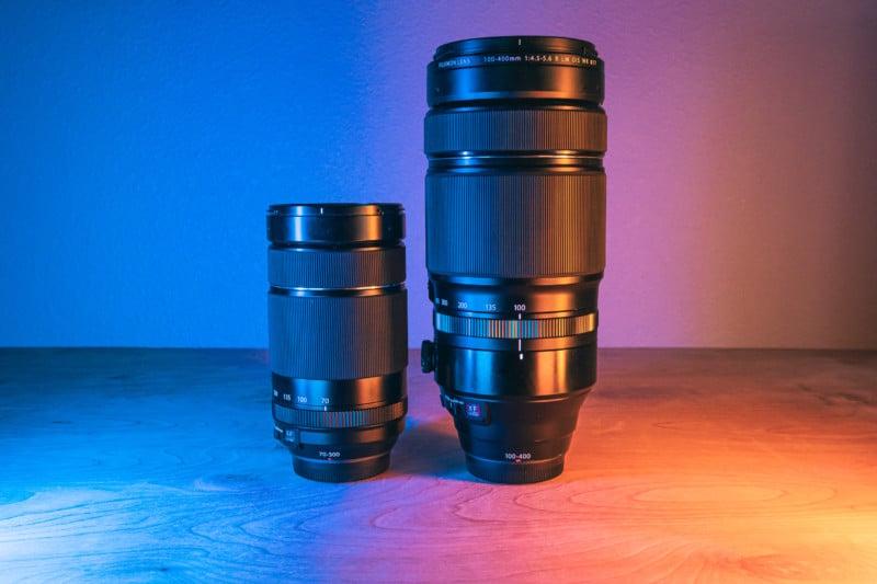 Fujinon XF 100-400mm Versus XF 70-300mm Telephoto Lens Comparison