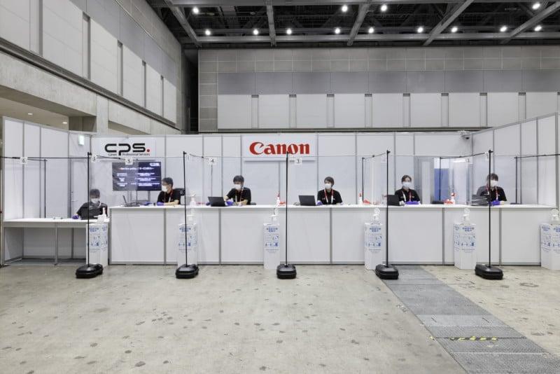 Inside Canon's Impressively Stocked Olympic Pro Camera Service Facility 19