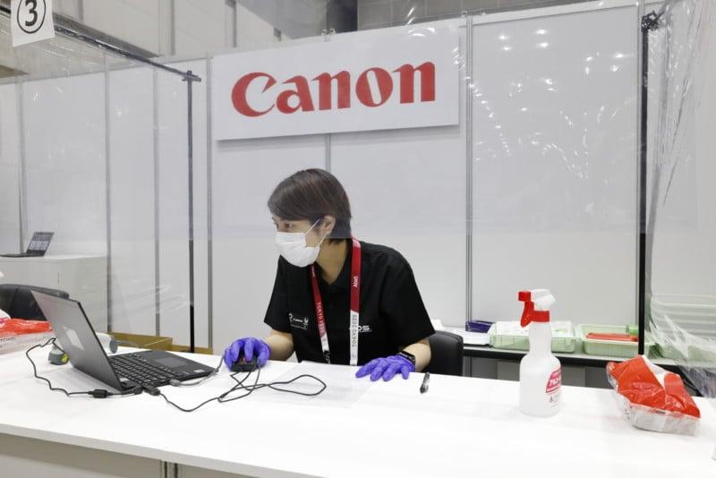 Inside Canon's Impressively Stocked Olympic Pro Camera Service Facility 21