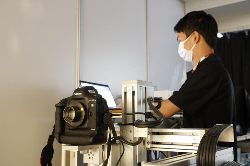Inside Canon's Impressively Stocked Olympic Pro Camera Service Facility 23