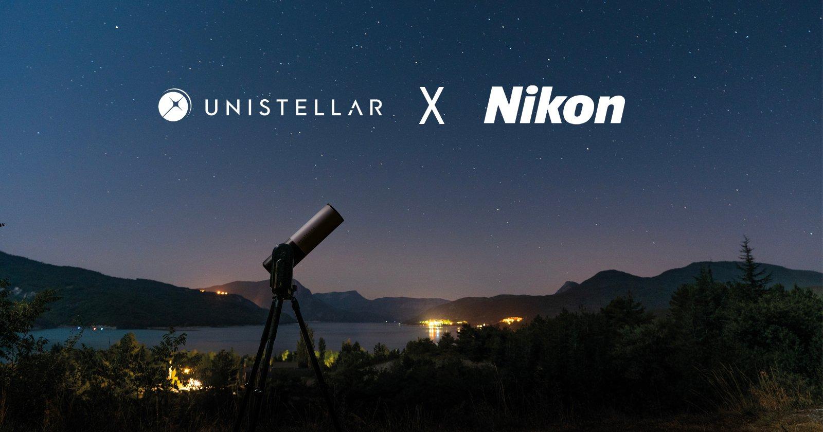 Nikon collabora con Unistellar per far progredire la tecnologia dei telescopi di consumo