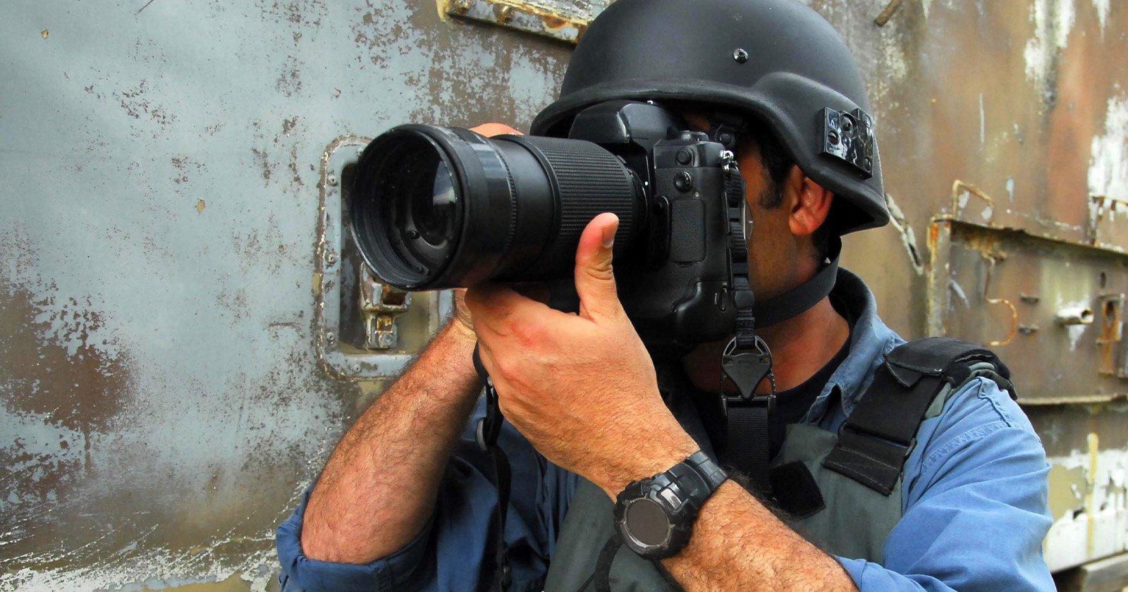 L'agenzia fotografica sostiene che i fotoreporter non hanno protezioni del copyright