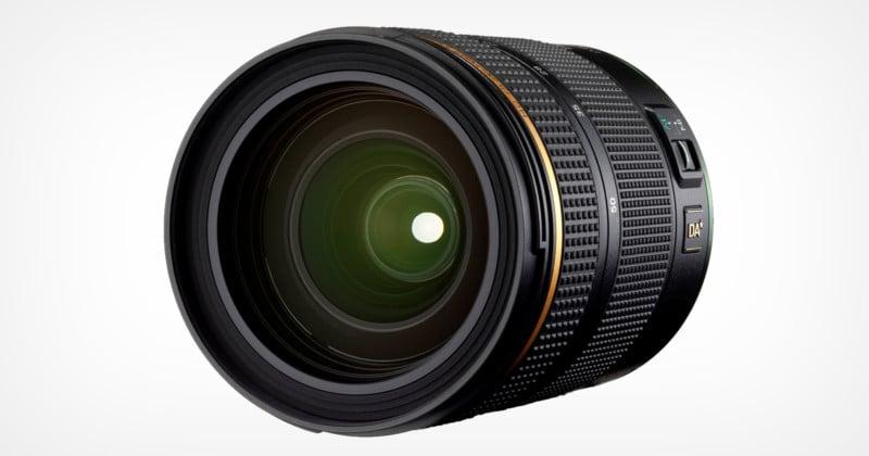 Ricoh Unveils the HD Pentax-DA 16-50mm f/2.8 K-Mount Star Series Lens