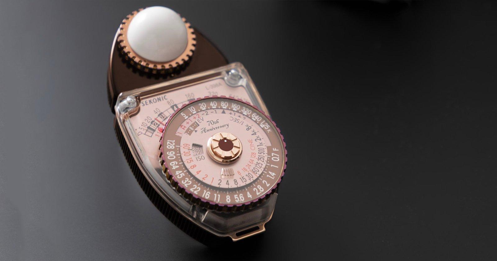 Sekonic rilascerà un misuratore di luce in edizione limitata basato su un design del 1956