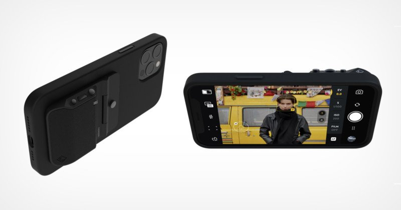 The Fjorden Grip Adds Full-Size Camera Functionality to the iPhone