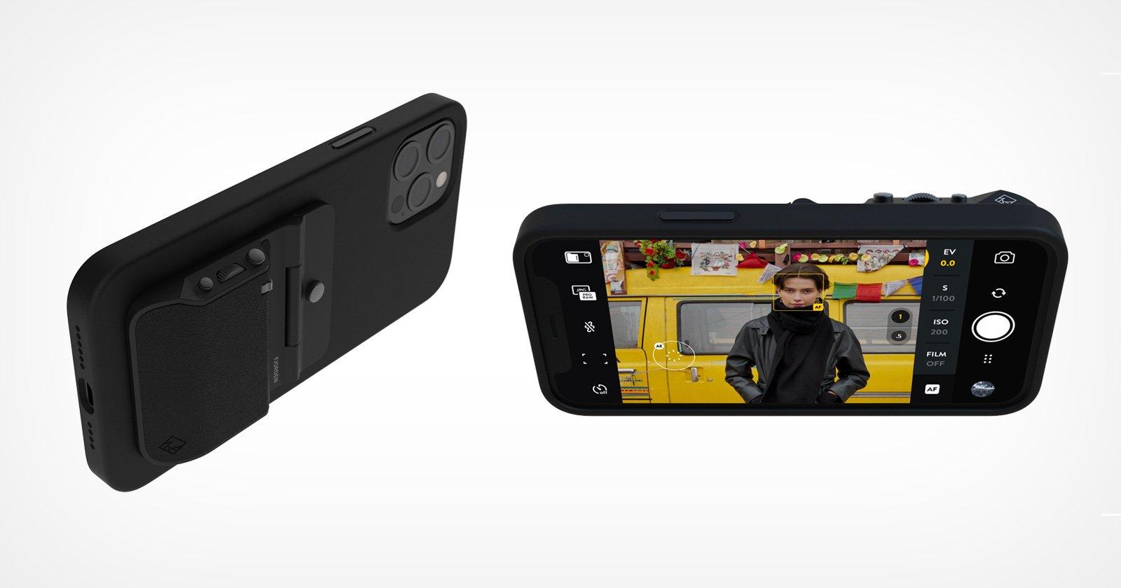 Il Fjorden Grip aggiunge la funzionalità della fotocamera a grandezza naturale all'iPhone
