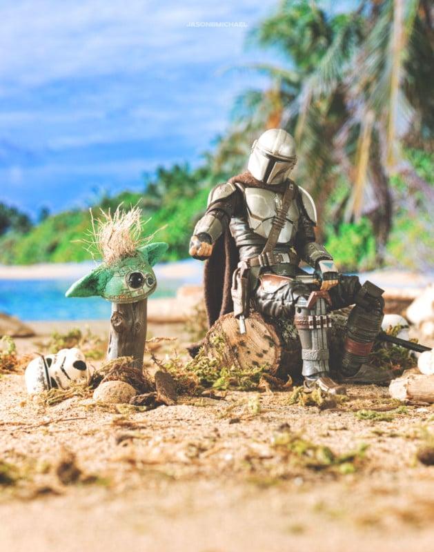 Fotógrafo combina juguetes icónicos y acción con resultados escandalosos - Star Wars