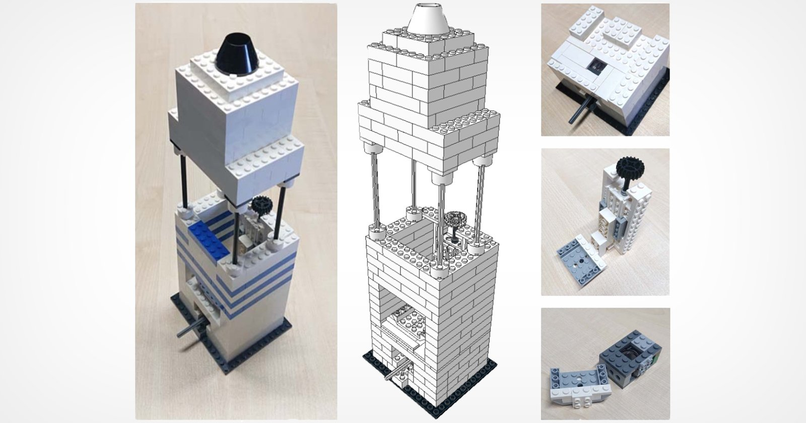 Puoi realizzare un microscopio ad alta risoluzione con un iPhone e un LEGO