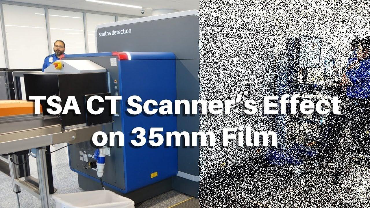 Cosa succede se la tua pellicola passa attraverso gli scanner CT della TSA?