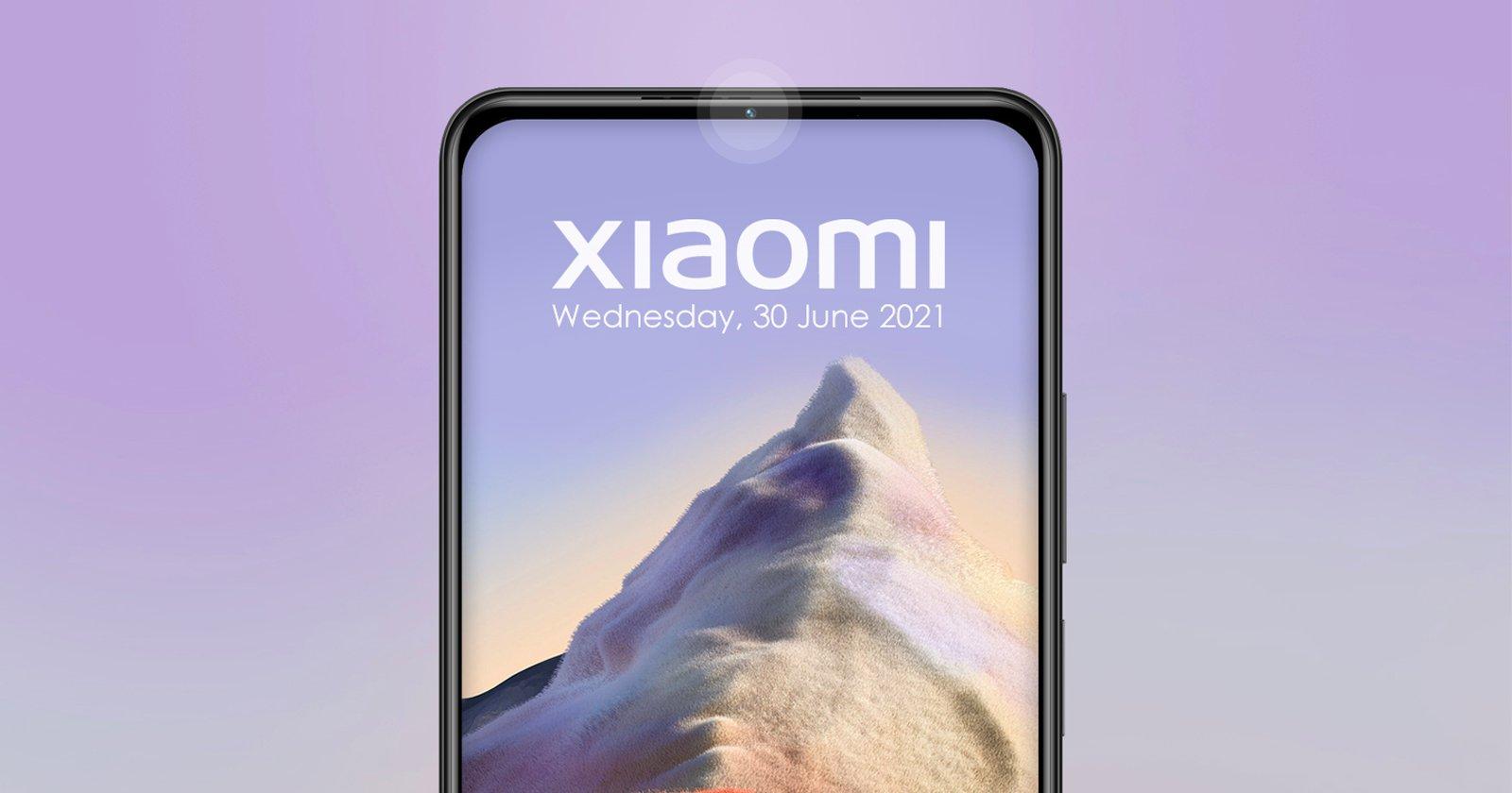 Xiaomi evita i problemi della fotocamera sotto il display, ne nasconde invece uno nella cornice