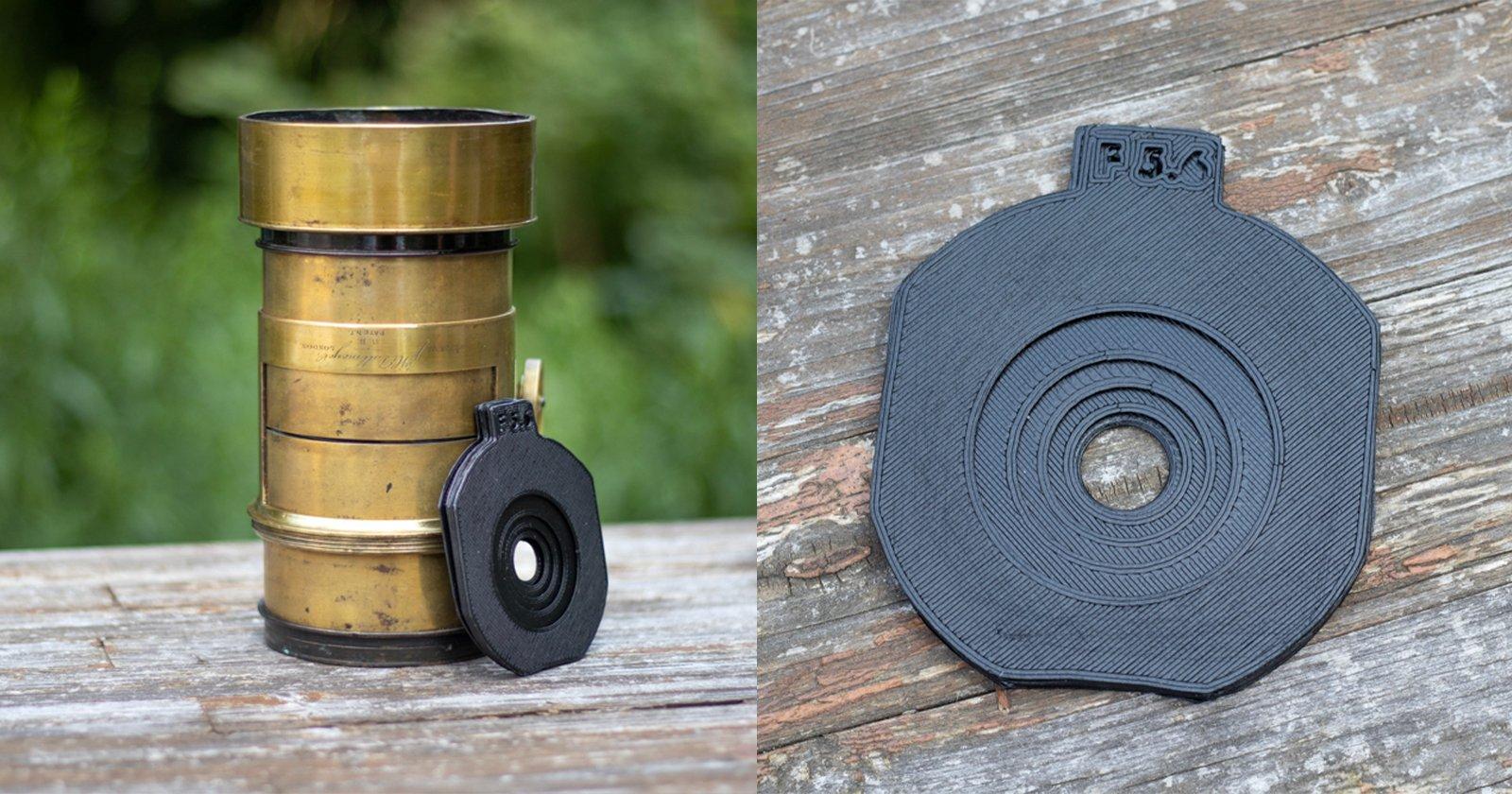 Come realizzare fermi Waterhouse personalizzati per lenti antiche