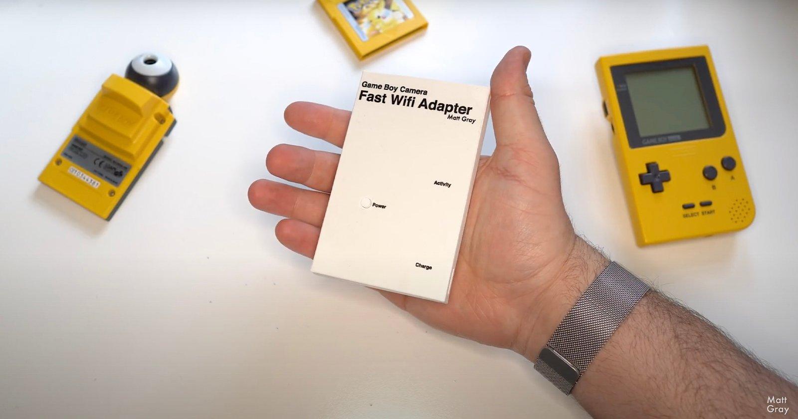 L'ingegnere modernizza la fotocamera del Game Boy del 1998 con un adattatore fai da te