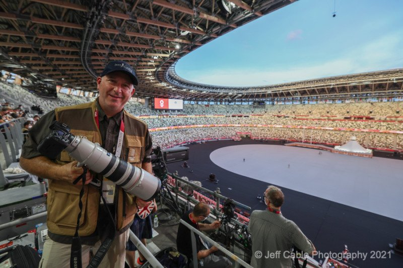 This Photographer Has a Canon R3 at the Tokyo Olympics