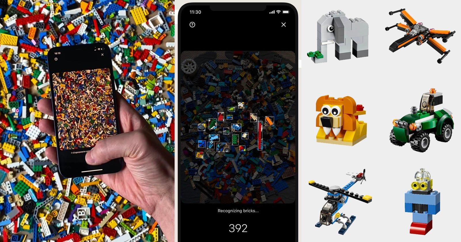 La fotocamera AI di Brickit scansiona i tuoi LEGO per suggerire cose che puoi costruire