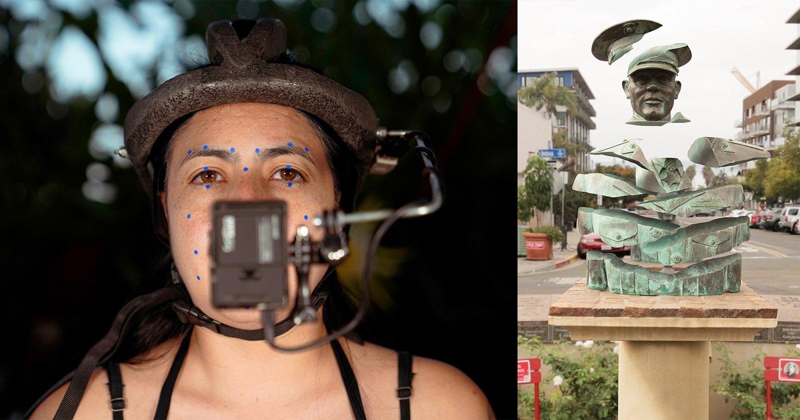 L'artista utilizza foto e motion capture per esplorare la storia militare a San Diego