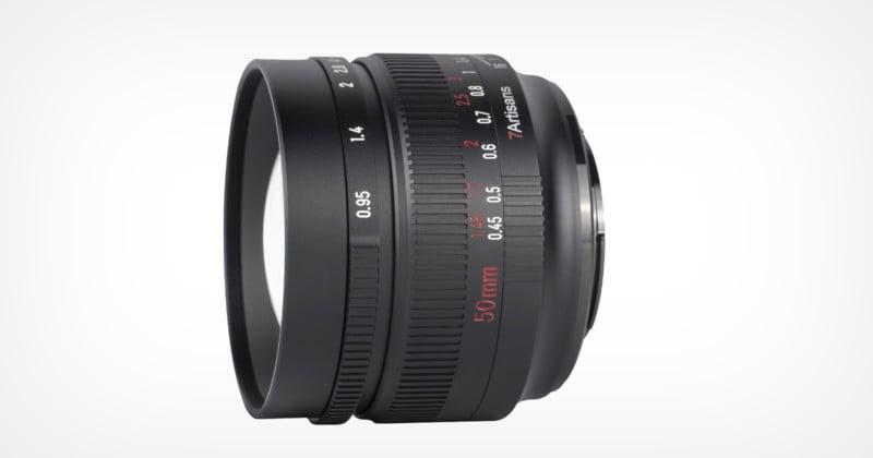 7Artisans Launches a 50mm f/0.95 Lens for Multiple APS-C Mounts