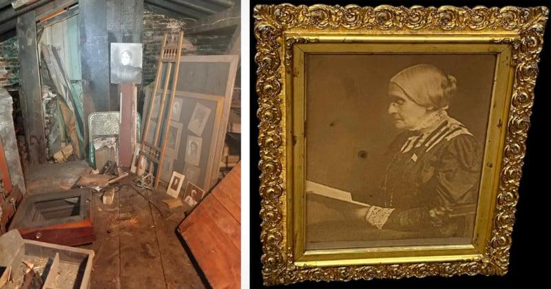 The Incredible Treasures Found Inside a 1800s Hidden Photo Studio 1