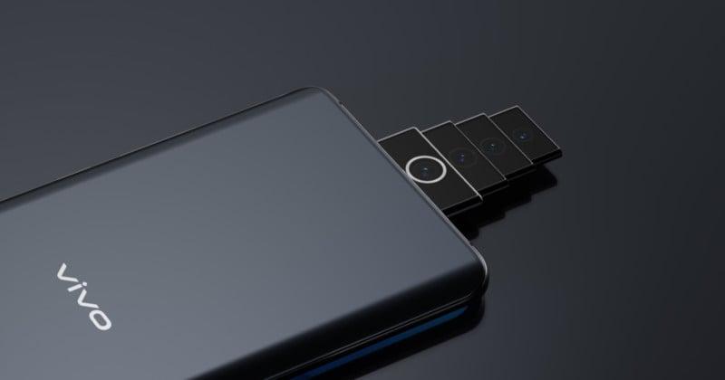 Vivo Designed a Pop-Up Multi-Zoom Telescoping Smartphone Camera