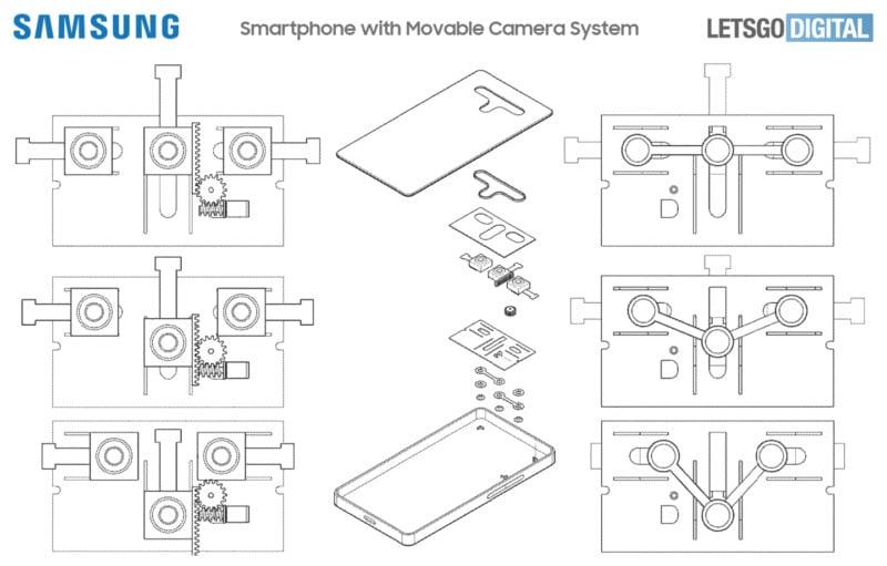 Samsung Designs Variable Aperture 'Moving' Smartphone Camera 47