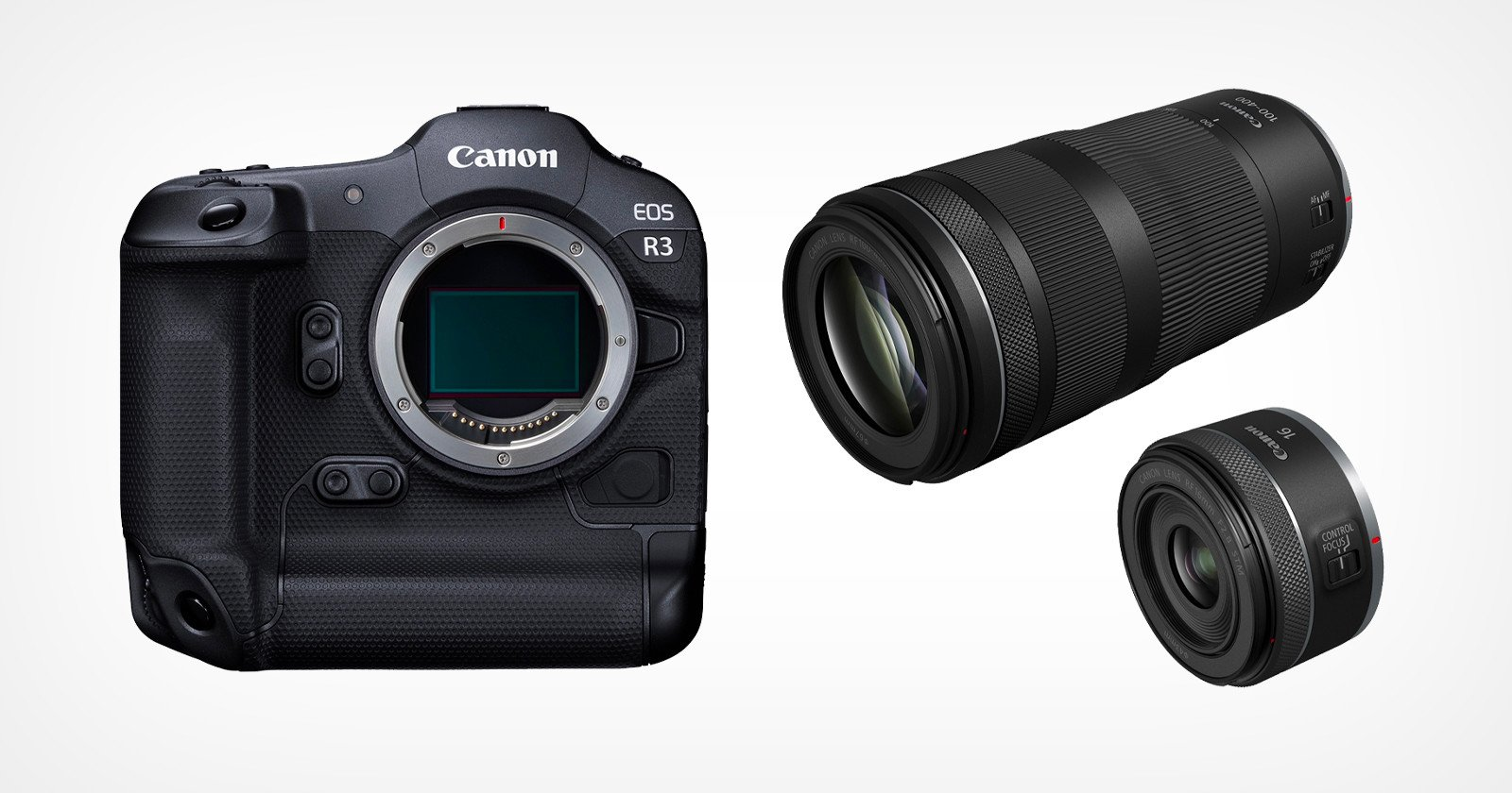 Canon Says it Can't Meet Demand for the R3 or Any of its New Lenses