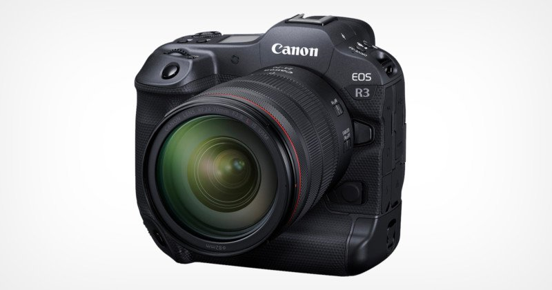 Canon Unveils the EOS R3: 24MP, 6K RAW, 30FPS Blackout-Free EVF