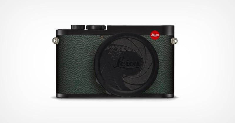 Leica Unveils the Q2 '007 Edition' with a Gun Barrel Lens Cap