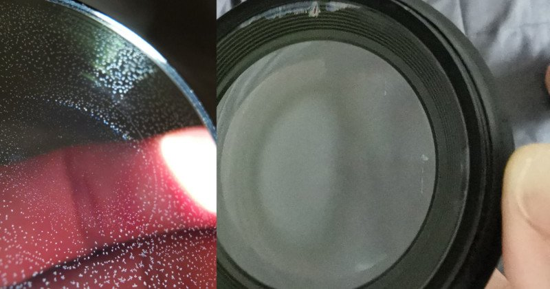 How to Remove Fungus Between Glued Camera Lens Elements 1