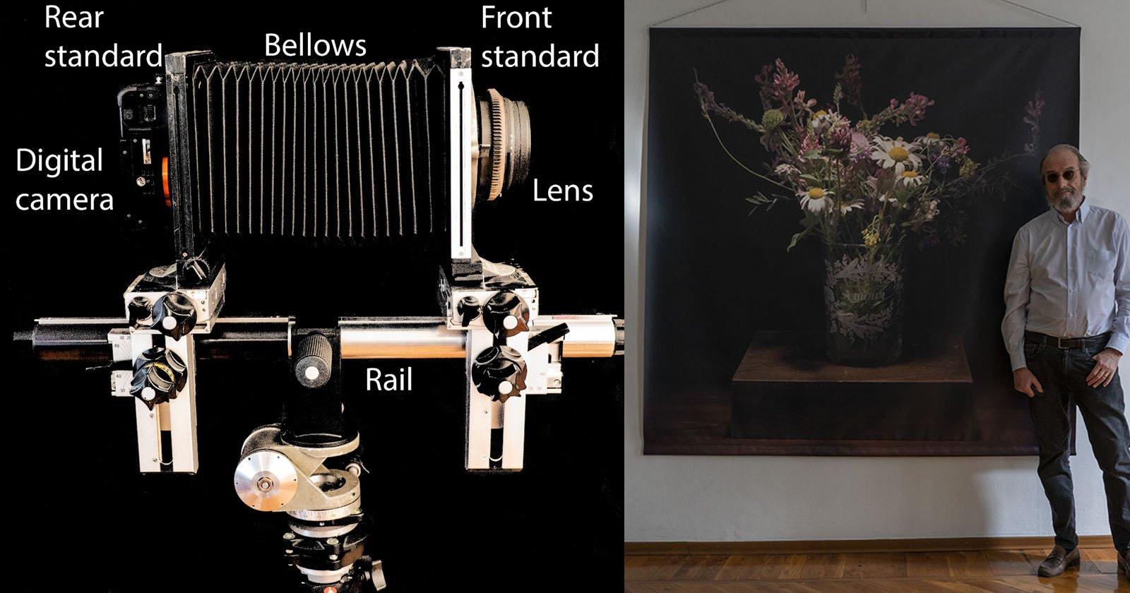DIY Ultra-High-Res Digital Photos with a Large Format Camera