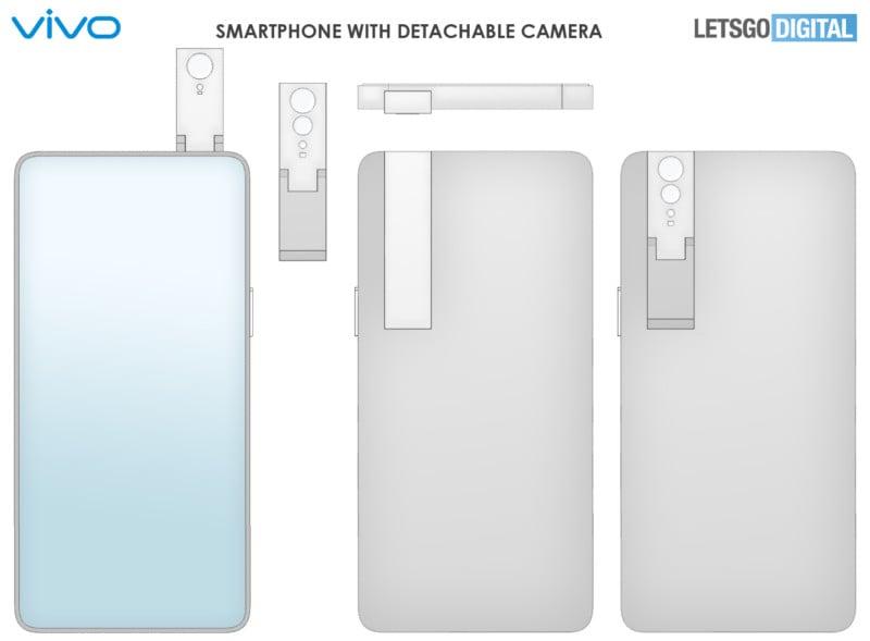 Vivo Designs Detachable, Double-Sided Pop-Up Smartphone Camera 12