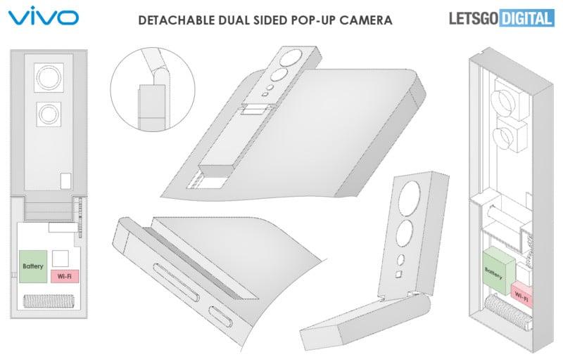 Vivo Designs Detachable, Double-Sided Pop-Up Smartphone Camera 11