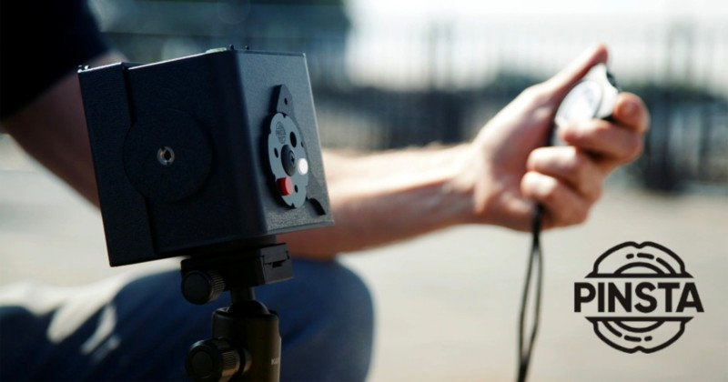 Pinsta Instant Camera: An Analog Micro Darkroom and Negative Enlarger 1
