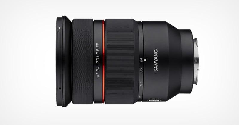 Samyang Unveils Parfocal E-Mount Autofocus 24-70mm f/2.8 Lens