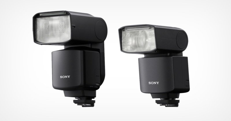 Sony Unveils Two New Flashes, the HVL-F60RM2 and HVL-F46RM