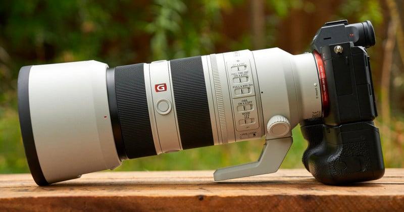 Sony Unveils the 'World's Lightest' 70-200mm f/2.8 GM OSS II Lens