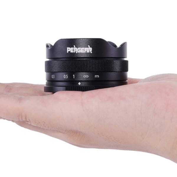 Pergear Reveals a 10mm f/5.6 Pancake Fisheye Lens for Multiple Mounts 3