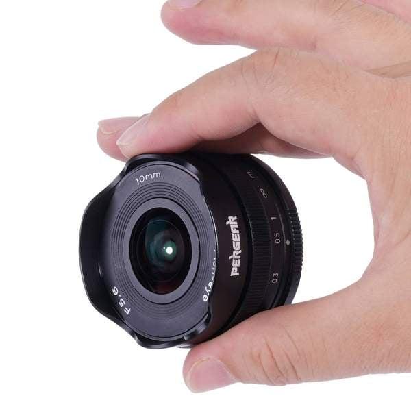 Pergear Reveals a 10mm f/5.6 Pancake Fisheye Lens for Multiple Mounts 2